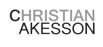 The Art & Tech of Christian Akesson